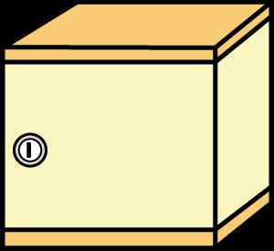 鍵付きBOX